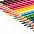 Colored pencils. — Stock Photo