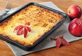 Curd casserole. — Stock Photo