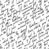 Seamless pattern with handwriting text — Stockvector