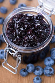 Blueberry Jam — Stock Photo