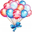 Happy Balloons — Stock Photo