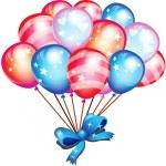 Happy Balloons — Stock Photo