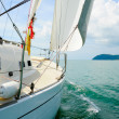 Yacht in the open sea — Stock Photo #20145291