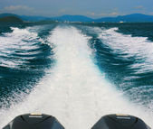 Speed ​​boat — Stock Photo