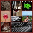 Wine collage. - Stock Photo