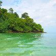 Tropical island in the open sea — Stock Photo #27299079