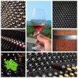 Wine collage. — Stock Photo #27333609