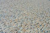 Sea stones with pebbles beach — Stock Photo