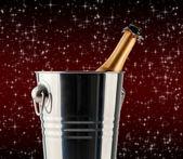 Botella de champagne — Foto de Stock
