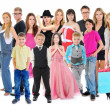 Large group of people — Stock Photo #44849581