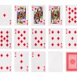Playing cards poker casino — Stock Photo #48506527