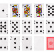 Playing cards poker casino — Stock Photo #48506601