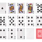 Playing cards poker casino — Stock Photo #48506723