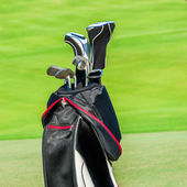 Golf club. Bag with golf clubs — Foto Stock