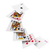 Playing cards poker casino — Stock Photo