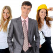 Happy smiling business team — Stock Photo #49905513