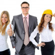 Happy smiling business team — Stock Photo #49948279