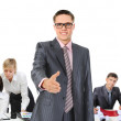 Happy smiling business team — Stock Photo #49965493