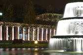 Wiesbaden - casino with fontaine in front — Stock Photo