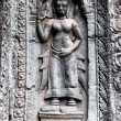 Royalty-Free Stock Photo: Apsara carved on the wall of Angkor Wat, Cambodia