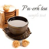 Pu-erh tea — Stock Photo
