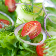 Stock Photo: Vegetable salad