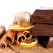Chocolate and spice — Stock Photo