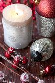Kerst kaarsen — Stockfoto