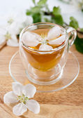 Tea in a glass — Stock Photo