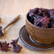 Hibiscus tea — Stock Photo #17173435