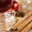 Christmas hot drink — Stock Photo