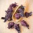Stock Photo: Hibiscus tea