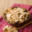 Healthy breakfast bowl of muesli — Stock Photo