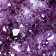 Abstract background of stone amethyst — Foto Stock