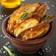 Baked potatoes — Stock Photo