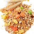 Stock Photo: Muesli granola