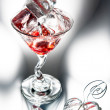 Red cool cocktail — Stock Photo #28840609
