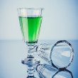 Mint liquor — Stock Photo #28840987