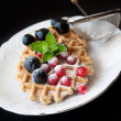 Sweet Waffles — Stock Photo