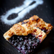 Piece of blueberry pie — Stock Photo #30475821