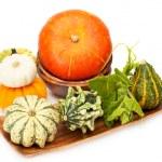 Autumn pumpkins — Stock Photo #32511371