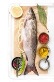 Raw fish — Zdjęcie stockowe