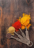 Spice over Wood. — Foto de Stock
