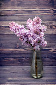 Lilac flowers in vase — Stockfoto