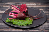 Raw beets — Stock Photo