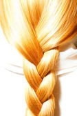 Carrots hair plaits — Stock Photo