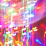 Цветное освещение эффекты сердце — Стоковое фото