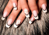 Beautiful nails — Stock Photo