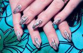 Beautiful nails — Stock Photo