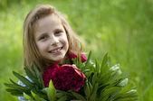 Mädchen glücklich — Stockfoto